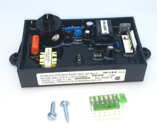 Atwood 93865 Rv Water Heater Ignition Control Board