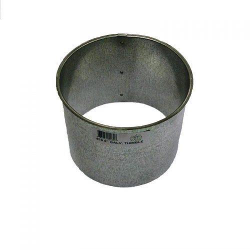 Francer 1366321 6 Galv 24Ga Smoke Pipe Wall